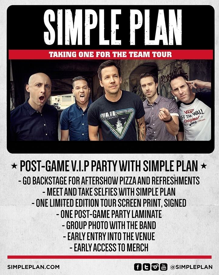 Simple Plan @ Citibank Hall - Sao Paulo, Brazil