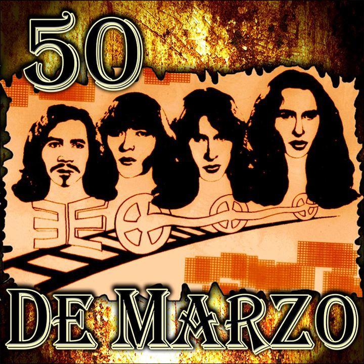 50 de Marzo Tour Dates