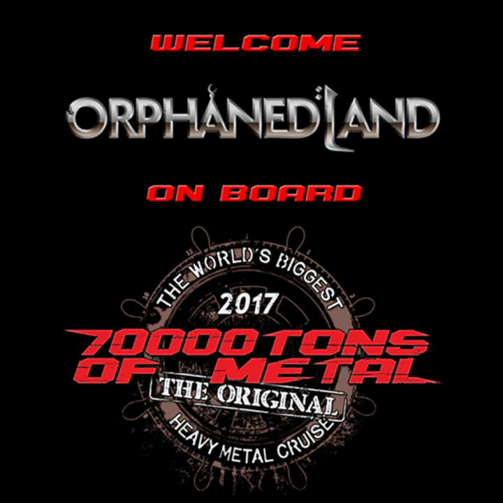 Orphaned Land @ 70000tons of metal - Miami, FL