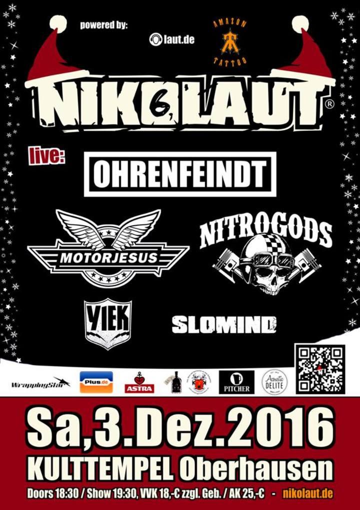 Motorjesus @ NIKOLAUT FESTIVAL - Oberhausen, Germany