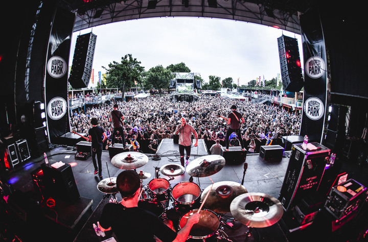 August Burns Red @ Soundwave Festival - Melbourne, Australia
