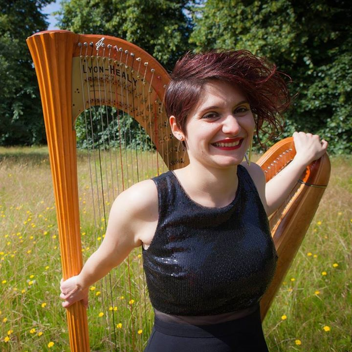 Anna Quiroga London Harpist Tour Dates