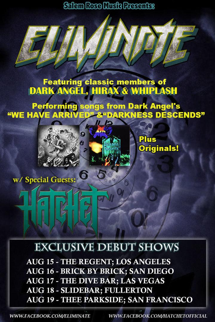 Hatchet (Official) Tour Dates