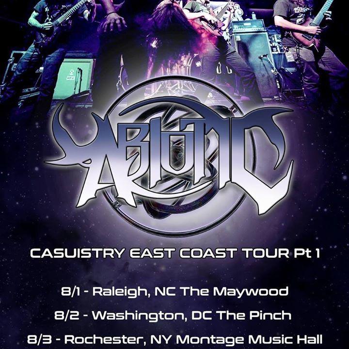 Abiotic Tour Dates
