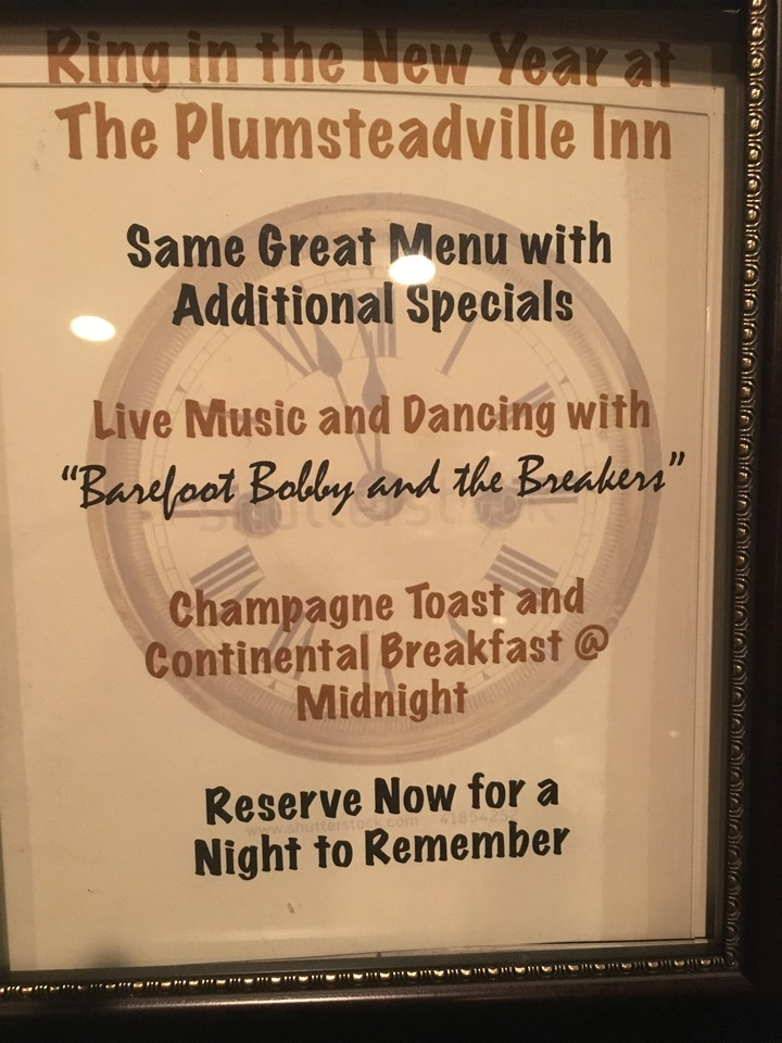 Barefoot Bobby and the Breakers @ Plumsteadville Inn 8:00pm-12:00am (Full Band) - Pipersville, PA