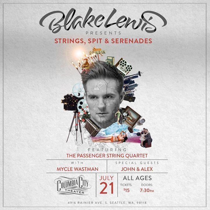 Blake Lewis Tour Dates