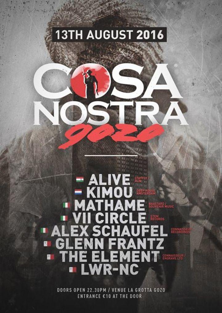 Cosa Nostra Malta Tour Dates