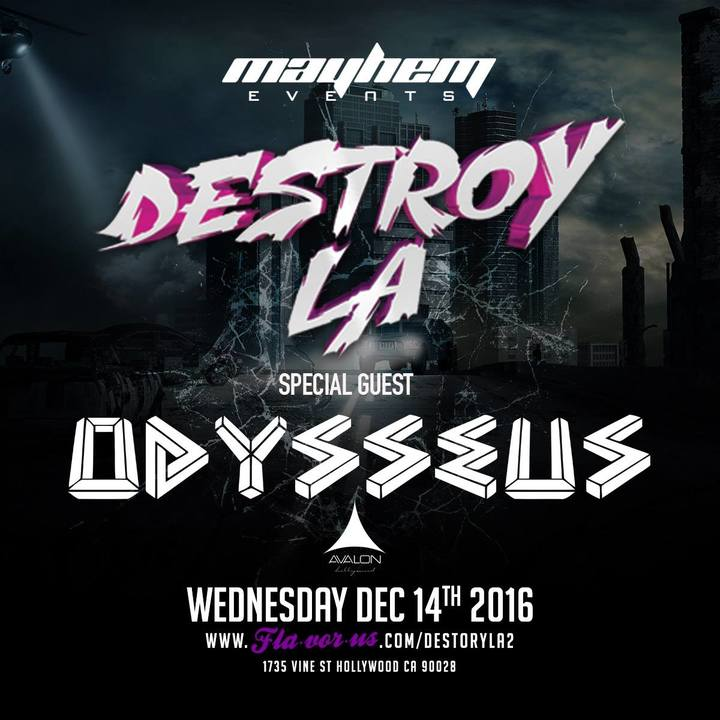 Odysseus @ Avalon Hollywood - Los Angeles, CA
