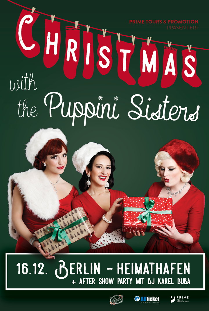 The Puppini Sisters @ Heimathaffen - Berlin, Germany