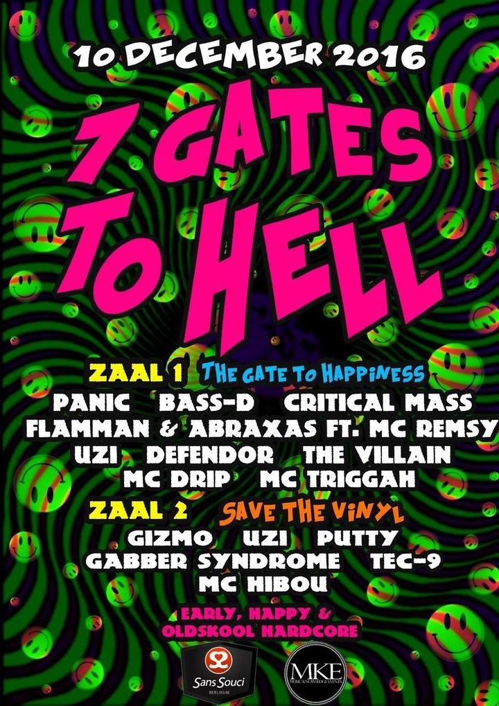 DJ Bass-d @ 7 Gates To Hell - Sans Souci - Berlikum, Netherlands