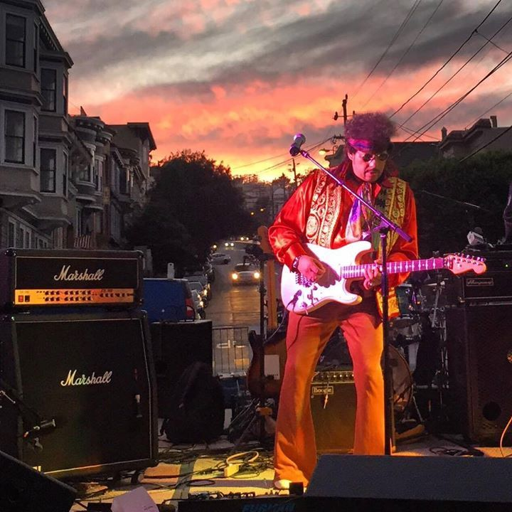 Harold Day and The Experience - Jimi Hendrix Tribute Tour Dates