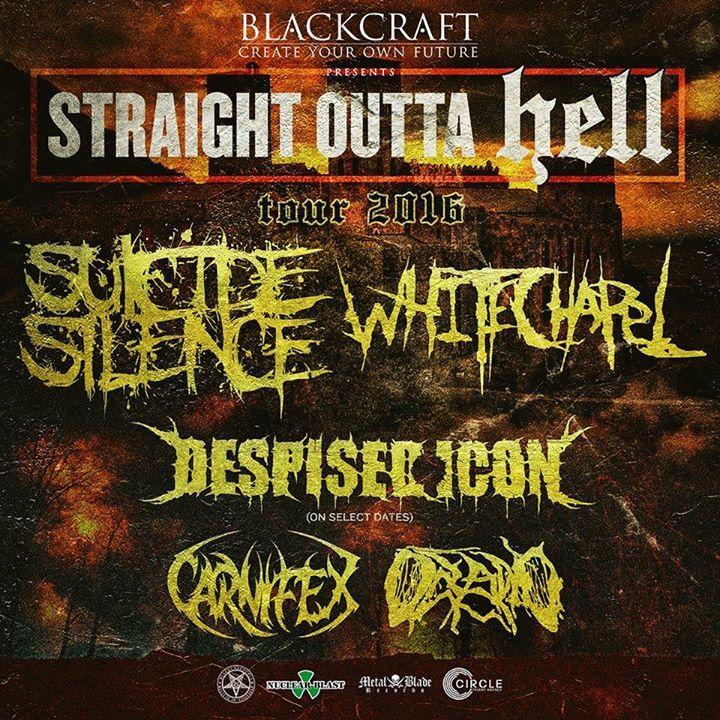 Suicide Silence Tour Dates
