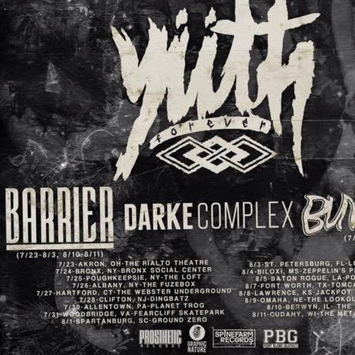 barrier Tour Dates