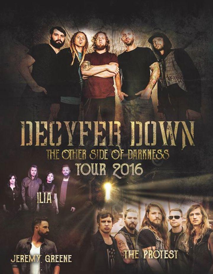 Decyfer Down Tour Dates