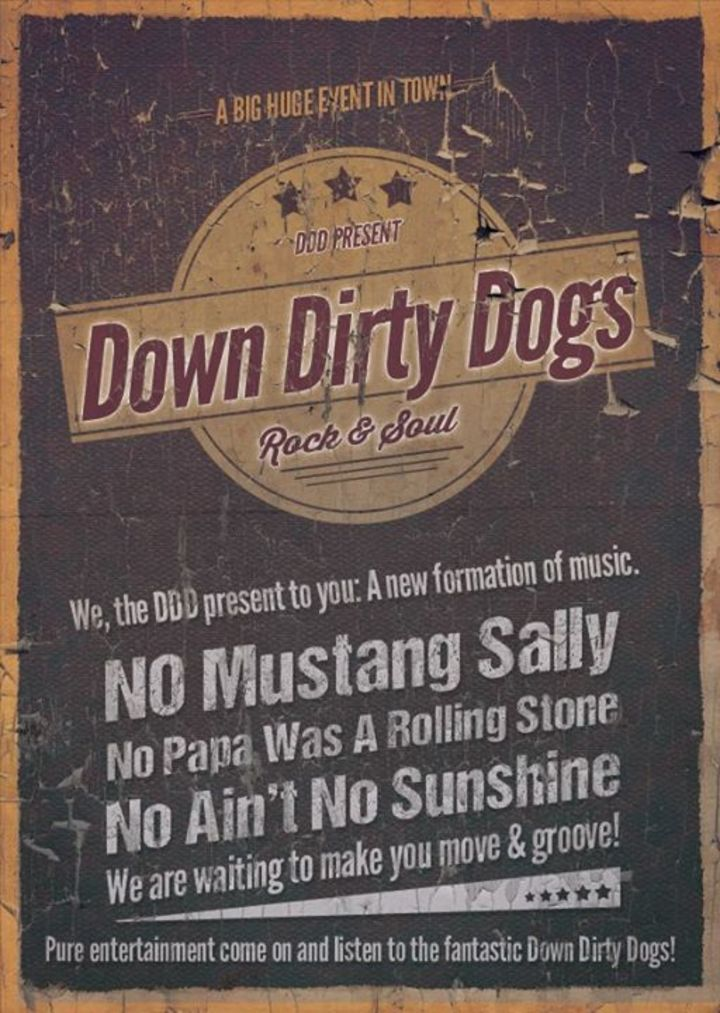 Down Dirty Dogs Tour Dates