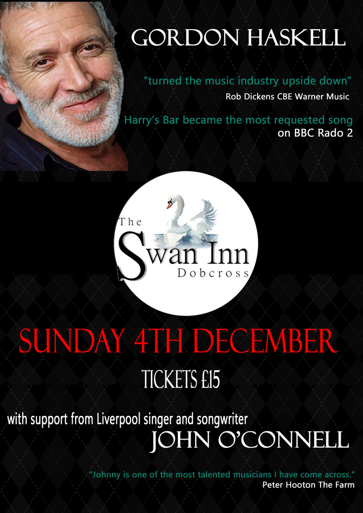 Gordon Haskell @ Swan Inn - Oldham, United Kingdom