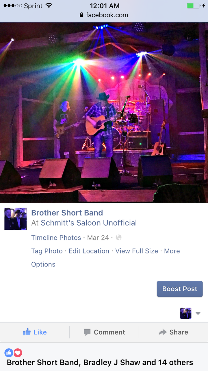 Brother Short Band Tour Dates