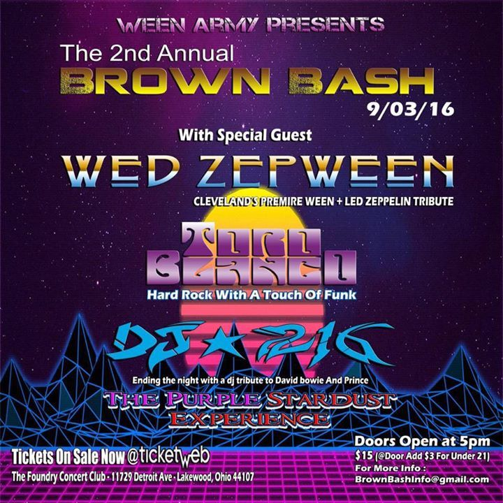 Wed ZepWeen Tour Dates