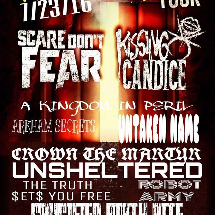 A Kingdom in Peril Tour Dates