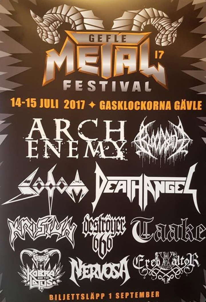Arch Enemy @ Gefle Metal Festival - Gavle, Sweden
