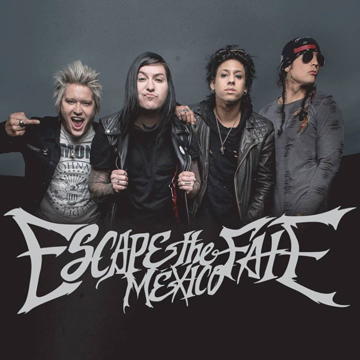 Escape The Fate México Tour Dates