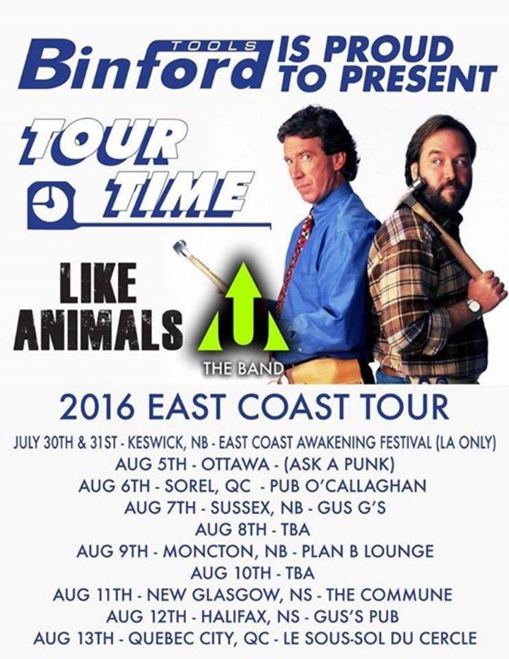 (u) the band Tour Dates