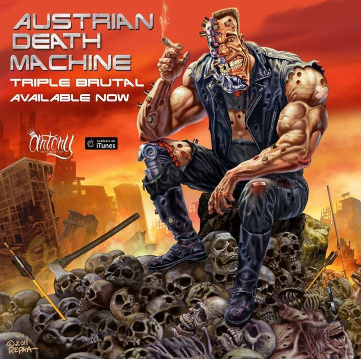 Austrian Death Machine Tour Dates