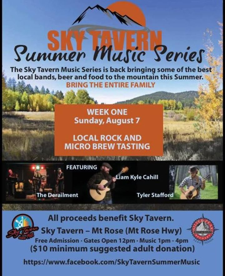 Sky Tavern Summer Music Series Tour Dates
