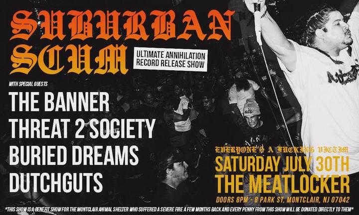 Bandsintown | Suburban Scum Tickets - The Meatlocker, Jul 30