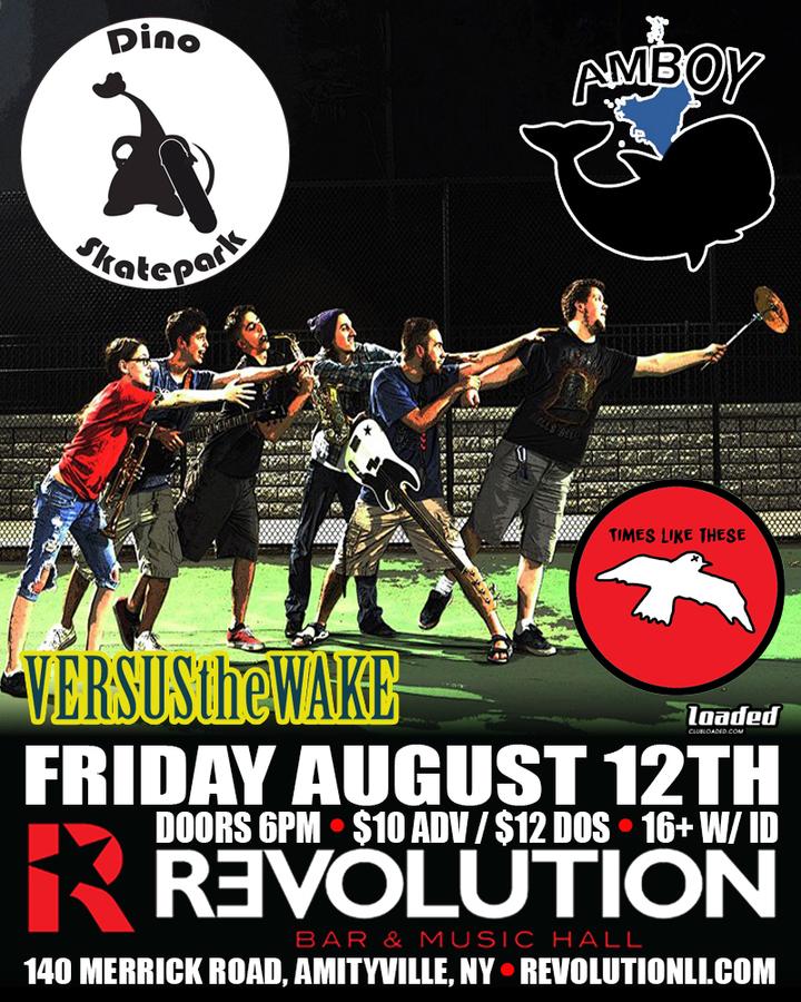 Versus The Wake @ Revolution Bar & Music Hall - Amityville, NY