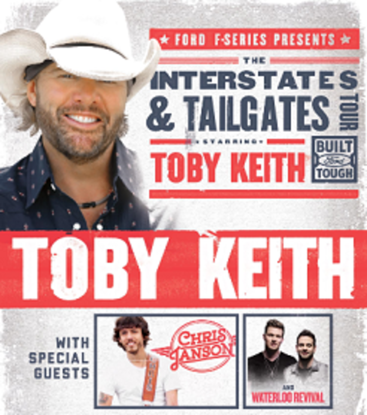 Waterloo Revival @ Florence Civic Center (with Toby Keith) - Florence, SC