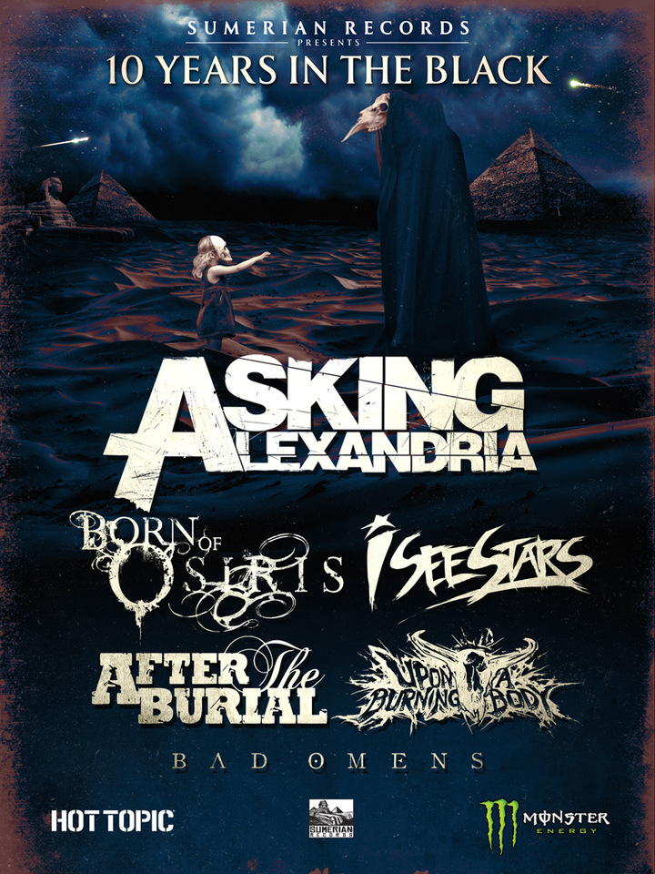 After the Burial @ Brooklyn Bowl - Las Vegas, NV