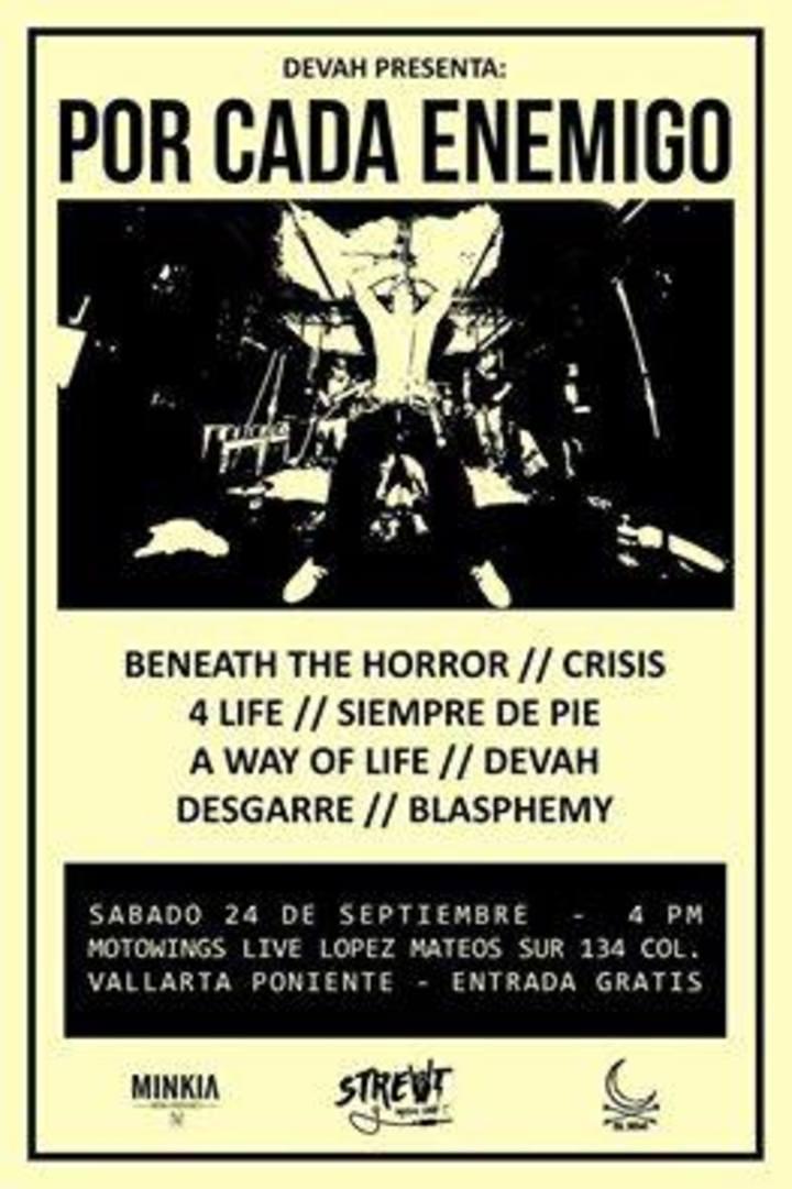 Desgarre Tour Dates
