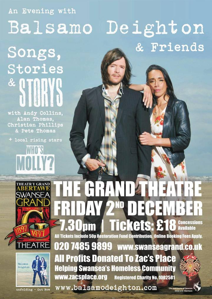 Steve Balsamo @ Grand Theatre - Swansea, United Kingdom