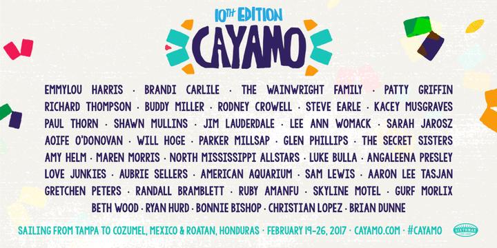 Christian Lopez @ Cayamo Cruise - Tampa, FL