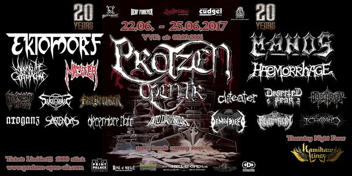 Sabiendas @ Protzen Open Air - Fehrbellin, Germany