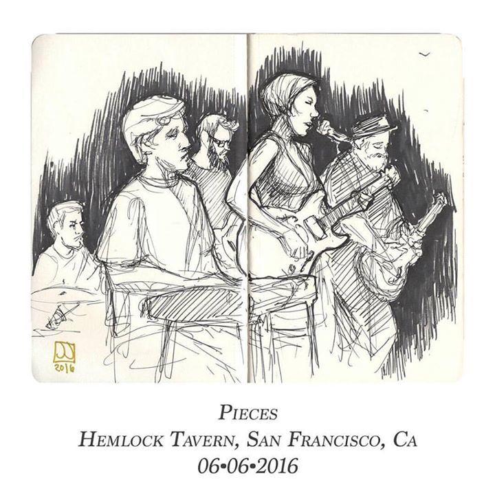 Pieces Tour Dates