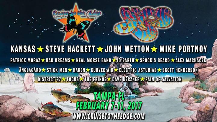 Bad Dreams @ Cruise to The Edge 2017 - Tampa, FL
