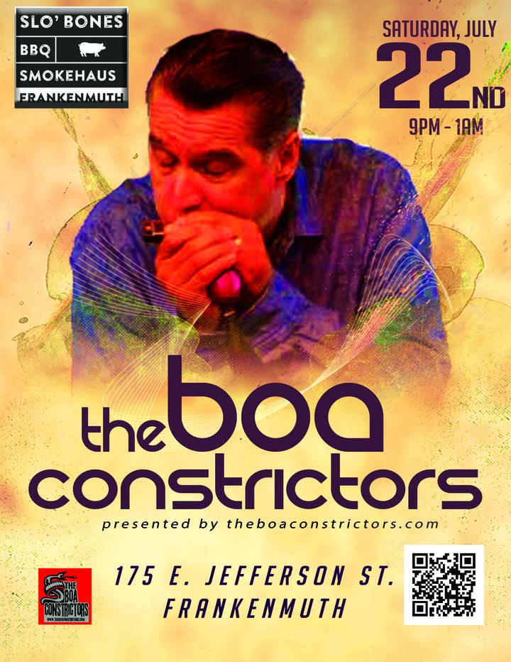 The Boa Constrictors @ Slo Bones Smokehaus - Frankenmuth, MI