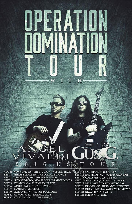 Gus G Tour Dates