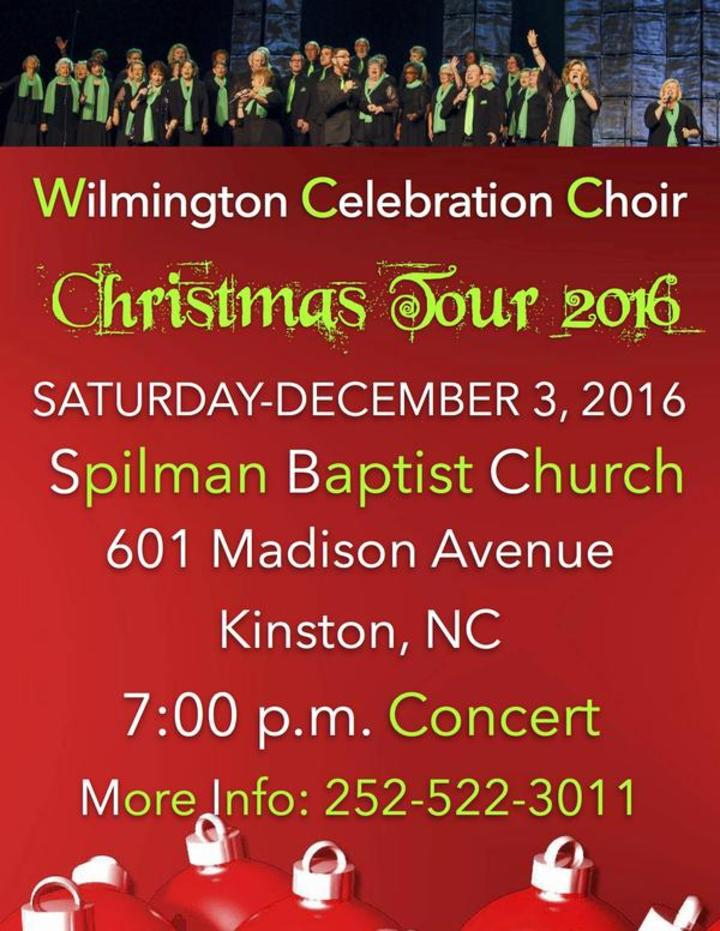 Wilmington Celebration Choir @ Spilman Baptist Church - Kinston, NC