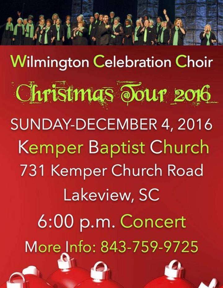 Wilmington Celebration Choir @ Kemper Baptist Church  - Lake View, SC