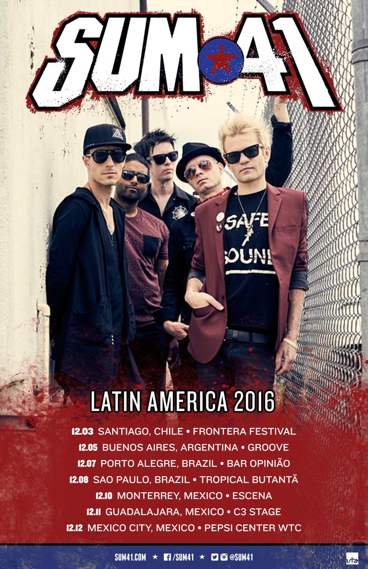 Sum 41 @ C3 Stage - Guadalajara, Mexico
