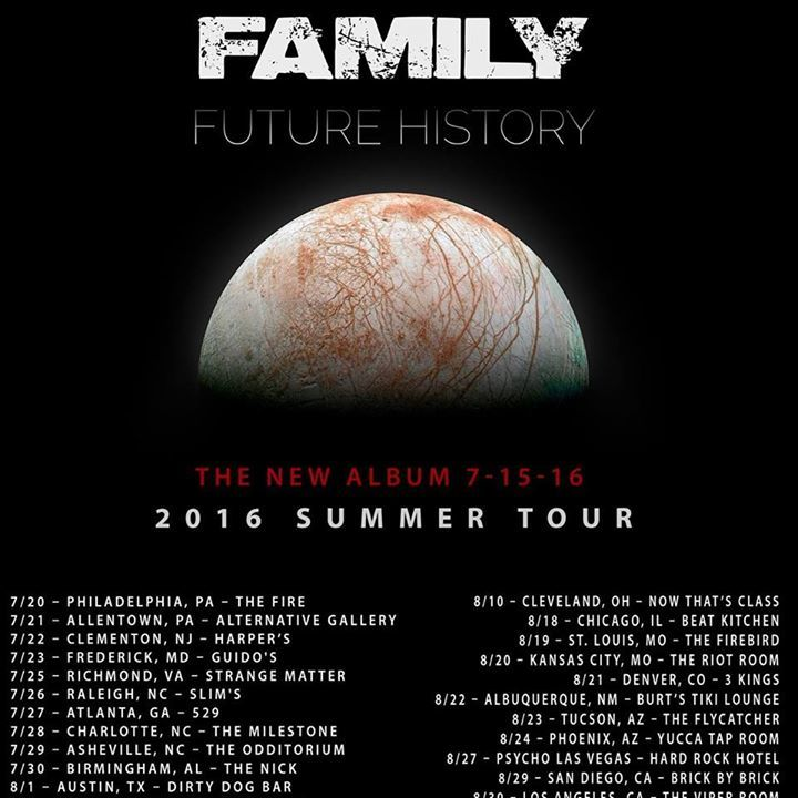 Family Tour Dates