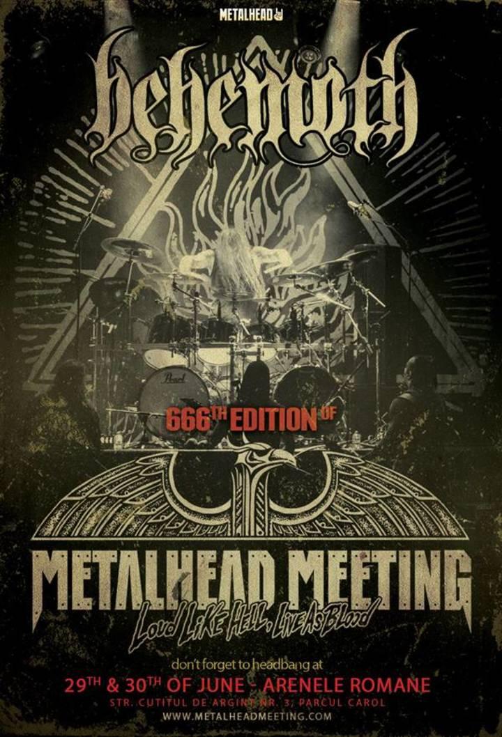 BEHEMOTH @ Metalhead Meeting - Bucharest, Romania