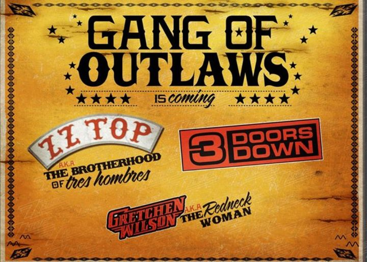 Gang of Outlaws Tour Dates