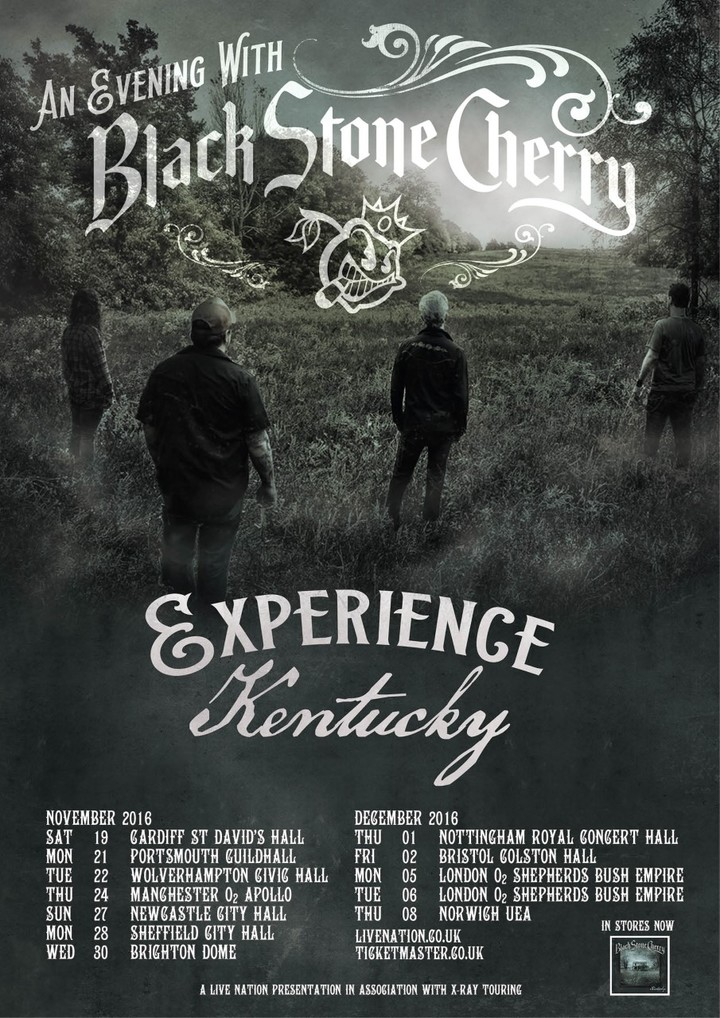 Black Stone Cherry @ Royal Concert Hall - Nottingham, United Kingdom