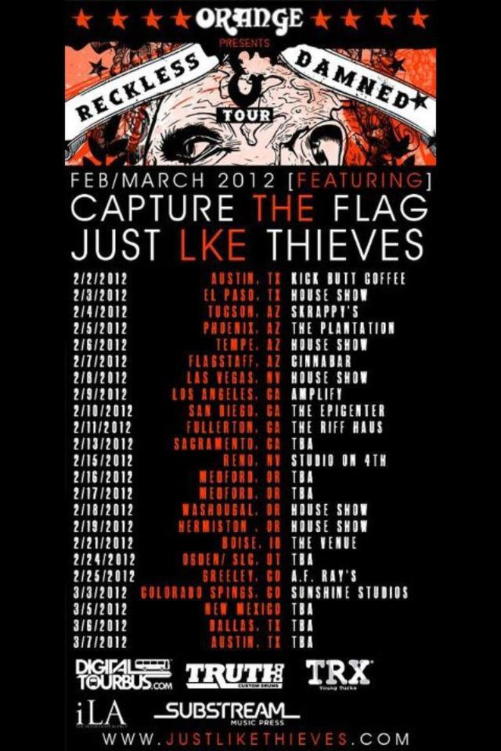 just like thieves Tour Dates