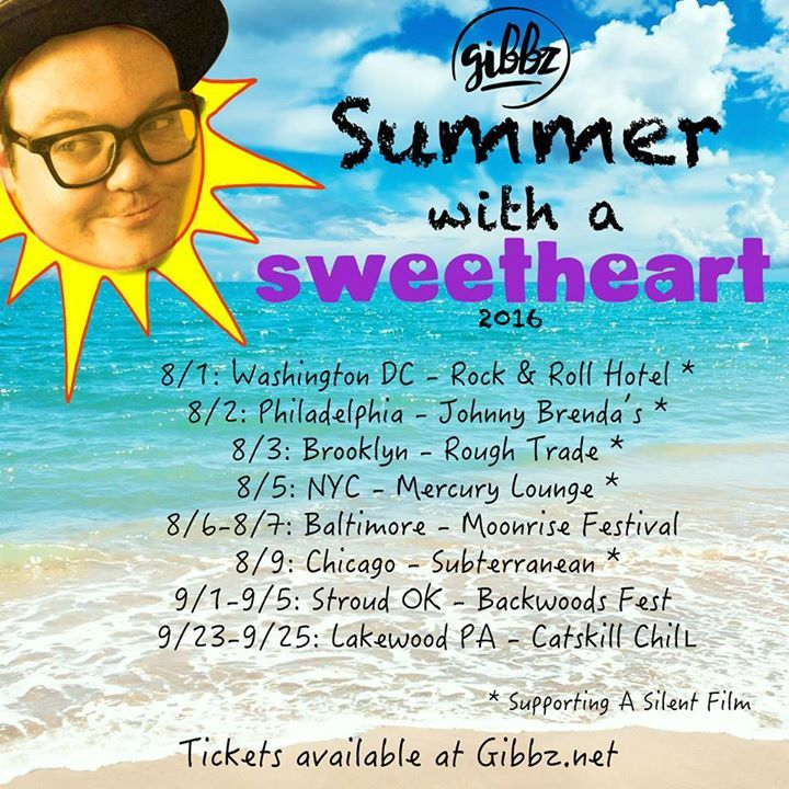 Gibbz Tour Dates