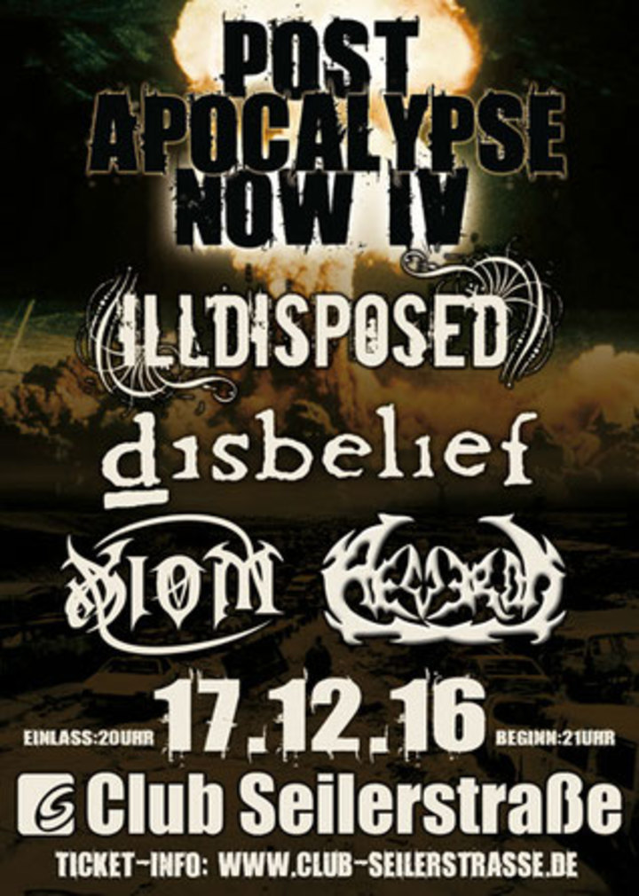 Illdisposed @ Club Seilerstrasse - Zwickau, Germany